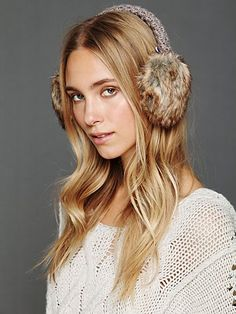 Crochet Earmuffs. http://www.freepeople.com/whats-new/crochet-earmuffs/