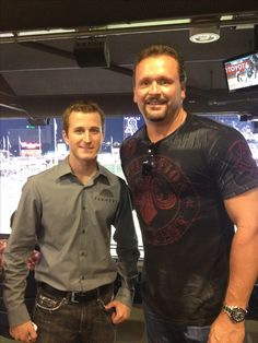 Nascar driver Kasey Kahne and former Phillies pitcher Tommy Greene