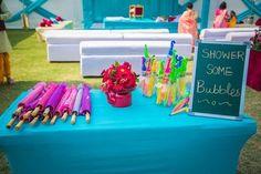 activity ideas, fun favours, unique ideas, bubble stand, umbrella stand