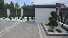 Minimalistyczny ogród w Warszawie • Zielono Mi