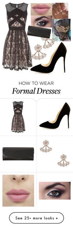 """""""Winter formal"""" by sarakauffman18 on Polyvore featuring Sole Society, Jane Norman and J. Furmani"""