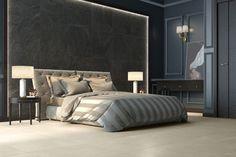 Grandes formatos - Tendencias - Hazlo con Cerámicos Bed, Furniture, Home Decor, Trends, Decoration Home, Room Decor, Home Furniture, Interior Design, Beds