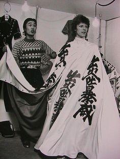 Bowie w Kansai Yamamoto