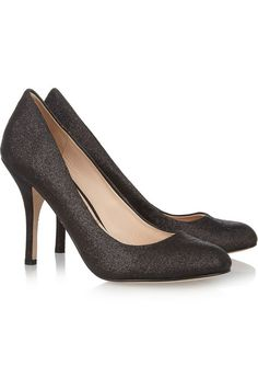 Lucy Choi Mica glitter-finished pumps
