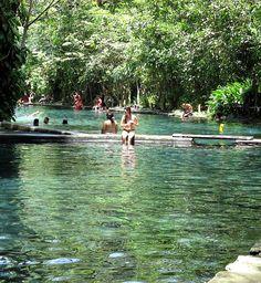 Ojo de Agua in Ometepe, Nicaragua are natural spring pools