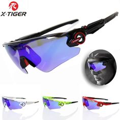 7ca087593c3 X-TIGER Polarized Cycling Glasses UV400 Cycling Sport SunGlasses Mountain  Bike Goggles Racing Road MTB