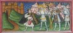 BL Harley 2278 Lives of Saints Edmund and Fremund