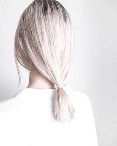 WHITE OUT ✖️ #motelrocks #hair #inspo