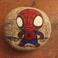 Hehe. A little Spiderman. I love the cartoon series The Ultimate Spiderman…