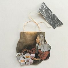 Artist Creates Visual Diary with Daily Miniature Paintings on Used Tea Bags ***Click the link. They're beautiful.*** If I ever took the time to do this.. they would make great bookmarks.. and for special friends.. artists.. a good, albeit somewhat strange, gift.