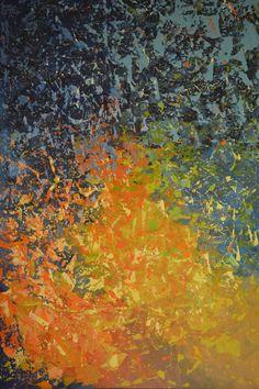 "Lighten Up! by Linda Bailey | $250 | 24""w 36""h | Original Art | https://www.arttwo50.com/buy/art/lighten-up"
