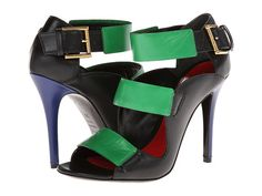 Alexander McQueen Tri Buckle Sandal 105mm Why must I love the most expensive ones...