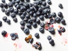 Glasshouse Assignment - Kang Kim - Food Photography - Smashed Blueberries | Glasshouse Assignment | A boutique photography representation agency