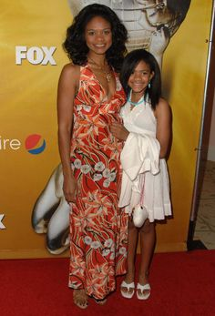 Kimberley Elise and daughter Butterfly looking like twins!