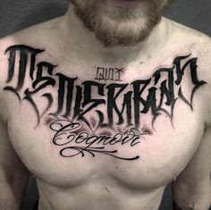Yallzee's pick of the day is from tattoo artist @jerry_tattoo ...I rather like the lettering but no clue what it says...