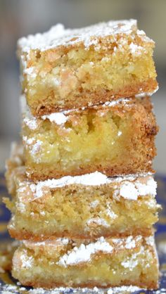 Gooey Butter Cake...so creamy buttery and delicious.  It will melt in your mouth.