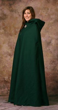 Hunter Melton Wool Lined Winter Cloak