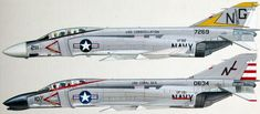 US Navy F-4 Phantoms