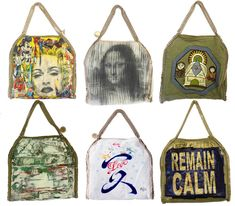 Custom Stella McCartney Handbags by Five Artists Up For Auction To Benefit Charity.