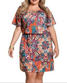 Vestidos Plus Size, Ideias Fashion, Look, Plus Size Clothing, Jean Dress Outfits, White Dress, Summer Dresses, Crochet Batwing Tops, Outfits