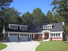 House Plan 59916   Cottage   Craftsman    Plan with 1758 Sq. Ft., 3 Bedrooms, 3 Bathrooms, 2 Car Garage