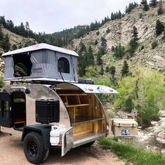 Teardrop Camper For Sale, Teardrop Trailer Plans, Teardrop Caravan, Trailer Build, Teardrop Camper Trailer, Camper Trailer For Sale, Travel Trailers For Sale, Camper Trailers