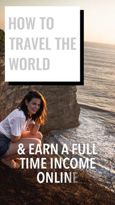 Learn how to travel the world and make a full time income online! Digital nomad, full time travel, health and wellness, vanlife. Van People, Hotel Ads, Online Travel, Digital Nomad, Online Jobs, Time Travel, Travel Tips, Way To Make Money, Dream Life