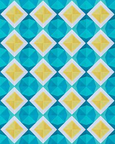 Starry Night Quilt Top Mock Up by Fresh Lemons : Faith, via Flickr