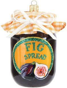 Harrods Brown Fig Spread Decoration #ad