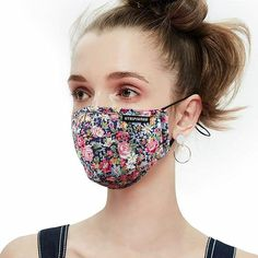 Utripsunew anti pollution dust mask washable and reusable 5 cotton face mouth mask protection from germ pollen allergy respirator mask - Mouth Mask Fashion, Fashion Mask, Mouth Mask Design, Flu Mask, Clay Face Mask, Face Masks, Safety Mask, Pollen Allergies, Respirator Mask