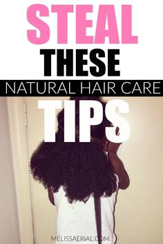 Take our natural hair tips to start caring for your natural hair the right way. #naturalhair Natural Hair Growth Remedies, Natural Hair Care Tips, Natural Hair Tips, Natural Hair Styles, Long Hair Styles, Type 4c Hairstyles, Hair Regimen, Hair Care Routine, Hair Hacks
