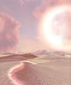 Pink Desert Art Print by Zeewipark - X-Small Desert Aesthetic, Aesthetic Photo, Pink Aesthetic, Aesthetic Pictures, Aesthetic Fashion, Aesthetic Backgrounds, Aesthetic Wallpapers, Desert Art, Photocollage