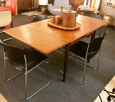 "TEEGEEBEE midcentury on Instagram: ""Well...once again 💥SOLD💥 before I could post. But what I was going to offer is this gorge #teak and #rosewood expandable dining table by…"""
