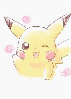 pokemon go free pokemon go! how to level up fast evolving all my pokemon! Kawaii Drawings, Disney Drawings, Cute Drawings, Pikachu Pikachu, Pokémon Kawaii, Kawaii Anime, Cute Pokemon Wallpaper, Cute Cartoon Wallpapers, Pikachu Drawing