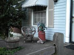 Pictures of Porches from Readers Pictures Of Porches, Porch Railing Designs, Small Porches, Front Porch, Patio, Outdoor Decor, Home Decor, Small Balconies, Decoration Home