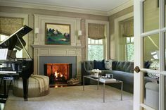 Traditional Living Room by Valerie Grant Interiors