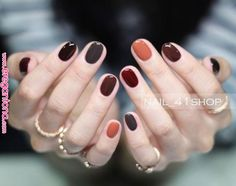 30 ideas which nail polish to choose - My Nails Autumn Nails, Winter Nails, Spring Nails, Cute Nails, Pretty Nails, Hair And Nails, My Nails, Nagellack Trends, Nail Polish