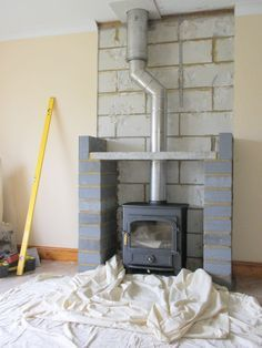 Wood Burning Stove Fireplace Fire Surround Log Burner Ideas For 2019 Wood, Front Room, Home, Home Fireplace, New Homes, Log Burner Living Room, House Interior, Fireplace, Wood Burning Fireplace