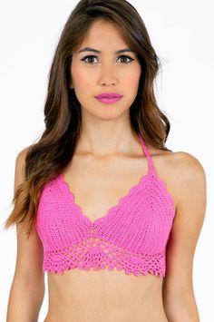 Gypsy Junkies Lyric Bikini Top $54 at www.tobi.com