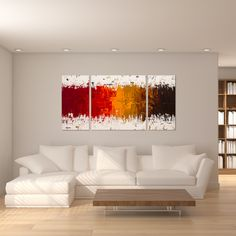 Shop for Carmen Guedez 'Luminescence' Triptych Canvas Wall Art. Get free delivery On EVERYTHING* Overstock - Your Online Art Gallery Store! Get in rewards with Club O! Canvas Art Prints, Canvas Wall Art, Gold Canvas, Canvas Groupings, Horizontal Wall Art, Triptych Wall Art, Canvas Home, Online Art Gallery, Decorating Your Home