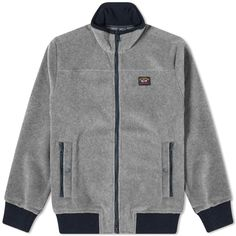 Buy the Paul & Shark Zip Fleece Jacket in Grey from leading mens fashion retailer END. - only Fast shipping on all latest Paul & Shark products Shark Man, Paul Shark, Gray Jacket, Mens Fashion, Zip, Grey, Men's Jackets, Outfits, Clothes