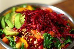 warzywa w sosie musztardowo-miodowym