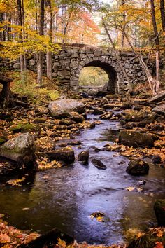 Keystone Arch Stone Bridge Minolta MD Zoom lens on Sony Landscape Photos, Landscape Art, Landscape Photography, Nature Photography, All Nature, Amazing Nature, Nature Pictures, Beautiful Pictures, Old Bridges