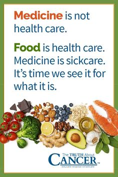 """""""Medicine is not health care. Food is health care. Medicine is sickcare."""" It's time we see it for what it is. Click through to learn about the seven foods that fight cancer naturally! In this article, Ty Bollinger also discusses your food as medicine. Check it out! Please pin to save for later! Together we can educate the world about healthy lifestyle!"""