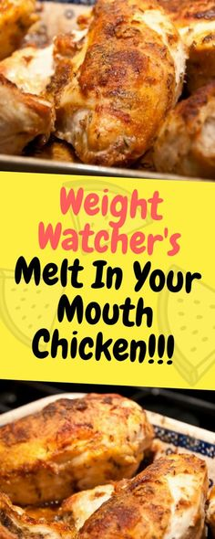 My Weight Watchers Chicken Recipes with SmartPoints. These Easy Weight watchers Chicken Recipes with Points are damn easy to cook, and we all love Chicken recipes, so why not try weight watchers chicken to lose weight fast while eating tasty! Weight Watchers Smart Points, Weight Watchers Free, Weight Watcher Dinners, Weight Watchers Chicken, Weight Watcher Vegetable Recipes, Weight Watchers Program, Ww Recipes, Cooking Recipes, Healthy Recipes