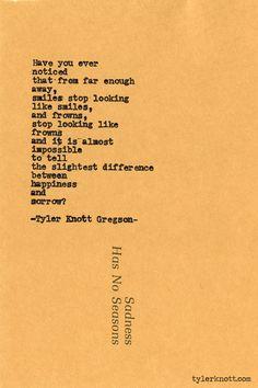 Typewriter Series #523by Tyler Knott Gregson