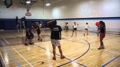 Grid Stability Ball Pass  #TGFU #invasion #stabiltyball #pass #CIRA Gopher Sports, Warm Up Games, Tag Tag, Stability Ball, Physical Education, Grid, Balls, Coaching, Cool Stuff