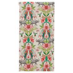 #kleurrijk #behang Zoe   Kwantum Painting Wallpaper, Floral Tie, Curtains, Shower, Prints, Style, Utrecht, Toilet, Blush