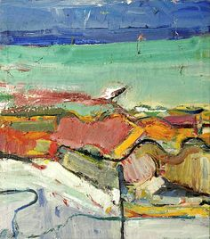 RICHARD DIEBENKORN (1922-1993) Berkeley    There's a lot of great artists but Diebenkorn's work is the one that speaks to me the most…why is that?