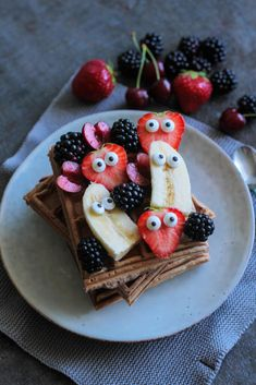 Frühstückswaffeln | Breakfast Waffles - City Cupcakes